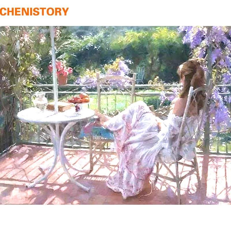 Купить chenistory realx для девочек diy живопись по номерам ручная