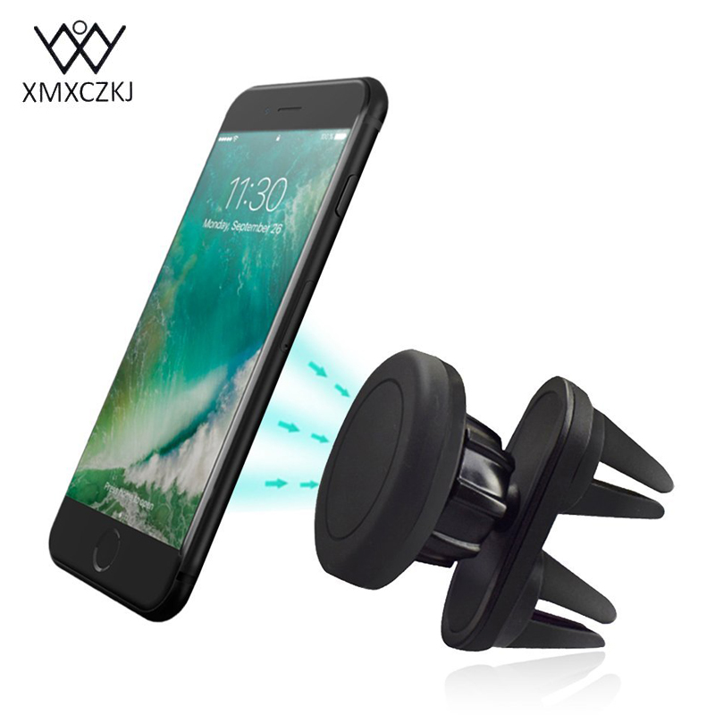 XMXCZKJ Car Phone Stand Universal 360 Degree Car Magnet