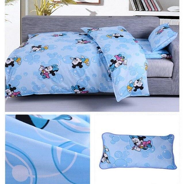 3PCS 100% Cotton Children Bedding Sets Boys Girls Bedding Set for Kids Printed Bedding Set Bedding Sheets Pillowcase CP04
