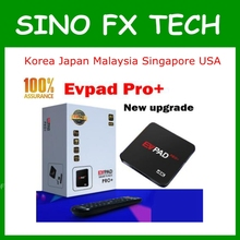 2018 NEW EVPAD PRO+ Android TV BOX Korean Japan CN HK TW SG MY NZ AU 1700+ IPTV Channels lifetime free