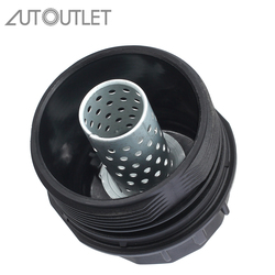AUTOUTLET 15620-37010 czarna pokrywa filtra oleju Cap tapicerka dla Toyota Corolla Matrix Prius Scion iM Scion XD