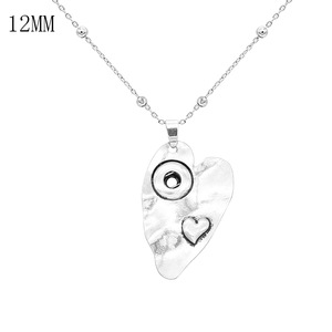 New Jewelry loveheart Snap But