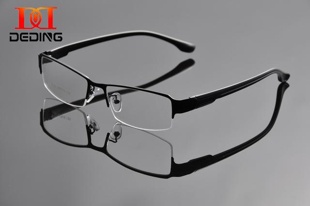 Dos homens de meia armação de óculos óculos de Metal Frame ótico para homens Marcos Opticos óculos de Hombres DD0932