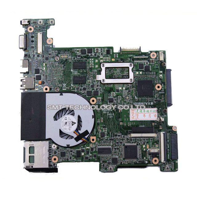 Оригинальный Для Asus Eee PC 1215N/VX6 ноутбука материнских плат неинтегрированной платы rev1.4 1.5 с кулером испытанная деятельность идеальный
