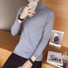 Striped Sweater Men Mens Sweaters Slim Fit Turtleneck Coat Jumper Waistcoat For Pullover Jumpers Cashmere Knitted Wool m73