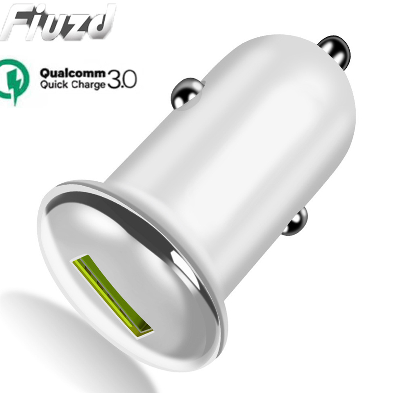 Fiuzd 18W USB Quick Charger  for Samsung S10e S10 S9 S8 7 Phoner HuaWei p20 p10 pro lite p9 8 Fast QC 3.0 Car