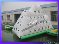 inflatable water park iceberg water game airtight water play equipment YLW W30