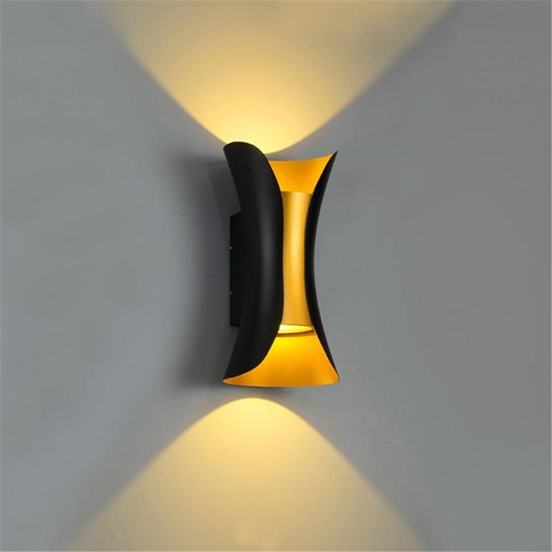 Outdoor Waterproof 10w Led Wall Light