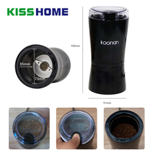 Electric Coffee Spice Grinder Maker with Stainless Steel Blades Beans Mill Herbs Nuts Moedor Cafe Safe Household Small Grinder цена и фото