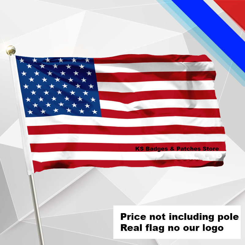 U.S.A. Flag Flying Flag Fabric Flag Flying Flag Various Size Price Not Including Pole