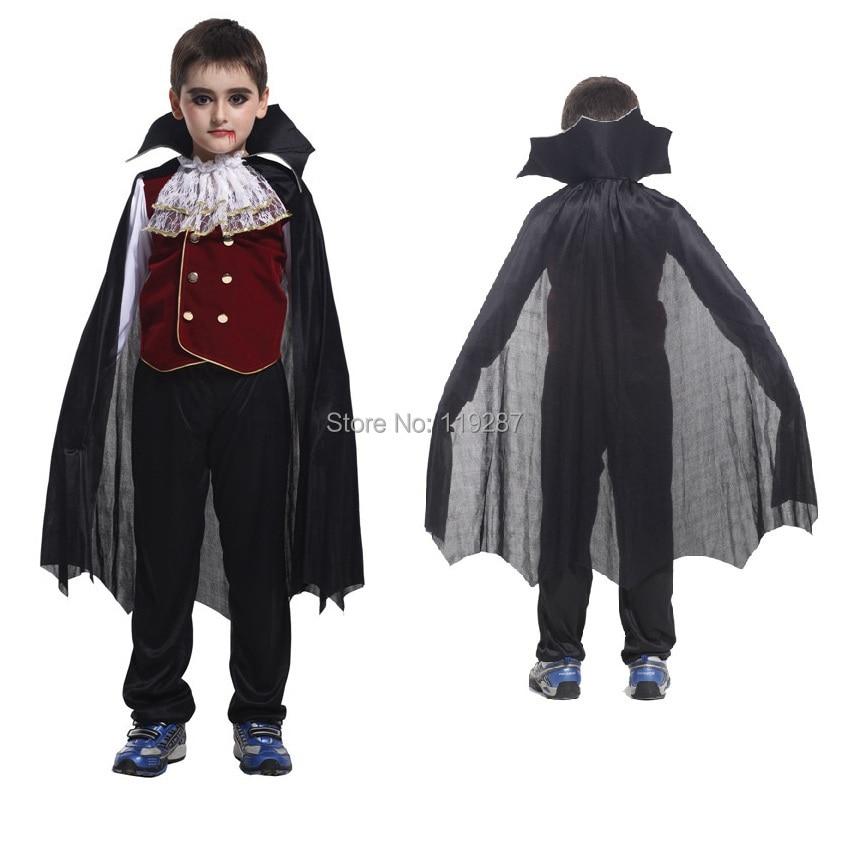 shanghai story new childrens halloween role play the hero the new boy kids vampire costumes halloween - Halloween Children Costumes