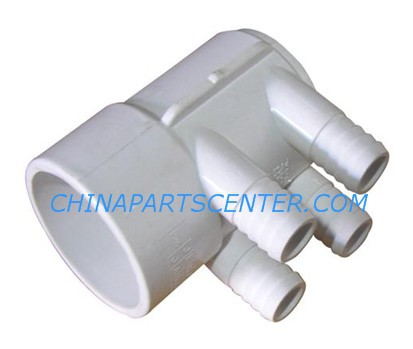PVC Water plumbing Manifold 2S x 2 S with 4 pcs 3/4 Ports with dead end , 2 PVC Manifold with 4 port for,Spa Hot tub россия платье s 4 spa