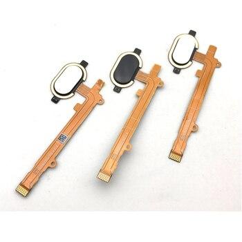 10 unids/lote, botón de inicio Sensor de huella digital Cable flexible para Motorola MOTO Z2 Play pieza de repuesto