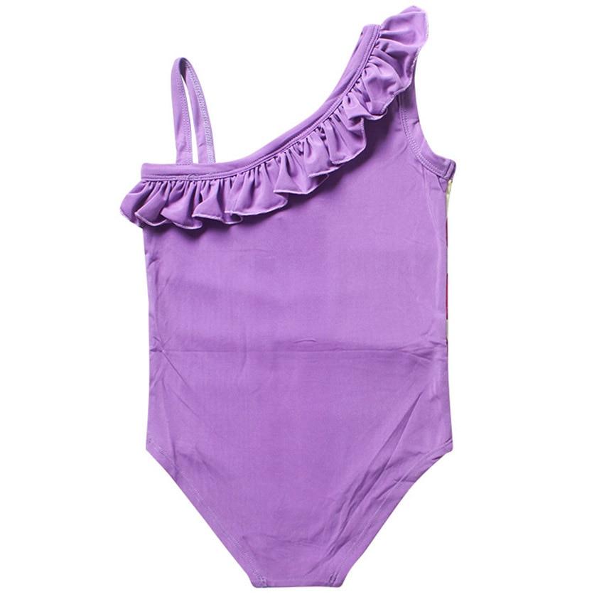 b0d95875e26d9 2017 newest Moana Girls trolls dress baby Girl Bikini one piece Swim Bow  wear Kids Bathing Children Swimsuits biquini-in Dresses from Mother & Kids  on ...