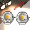 2 Pcs 12V 10W White Work Light Motorcycle Car Truck LED Road Spot Lamps Fog Spotlights