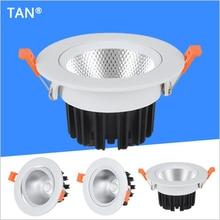 Светодиодный светильник 5 Вт 10 Вт 15 Вт круглый встраиваемый светильник 220 в 230 в 240 В светодиодный светильник для спальни кухни Светодиодный точечный светильник