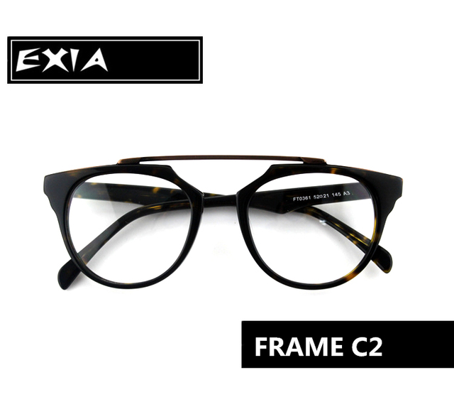 Glasses Acetate Frame Top Quality Design Imitate Wood Grain with ...