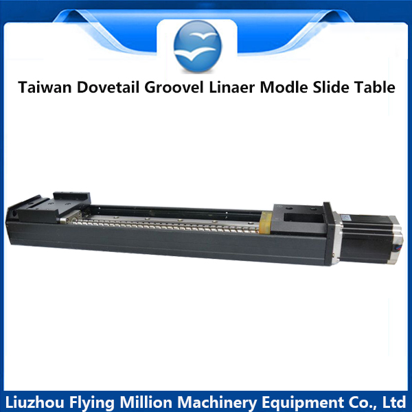 Taiwan imports dovetail groove sliding Table  TBI guide Rail HiWin screw rod  1510  linear electric sliding table горелка tbi sb 360 blackesg 3 м