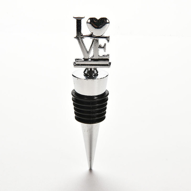 party favors creative love wine bottle stoppers wedding favors bridal shower favors wine gift ls