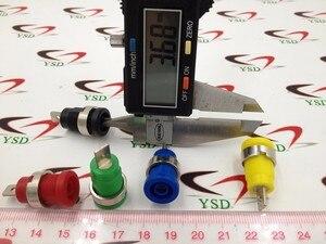 100 шт Высокое качество связывания пост Банан Джек для 4 мм безопасности разъем