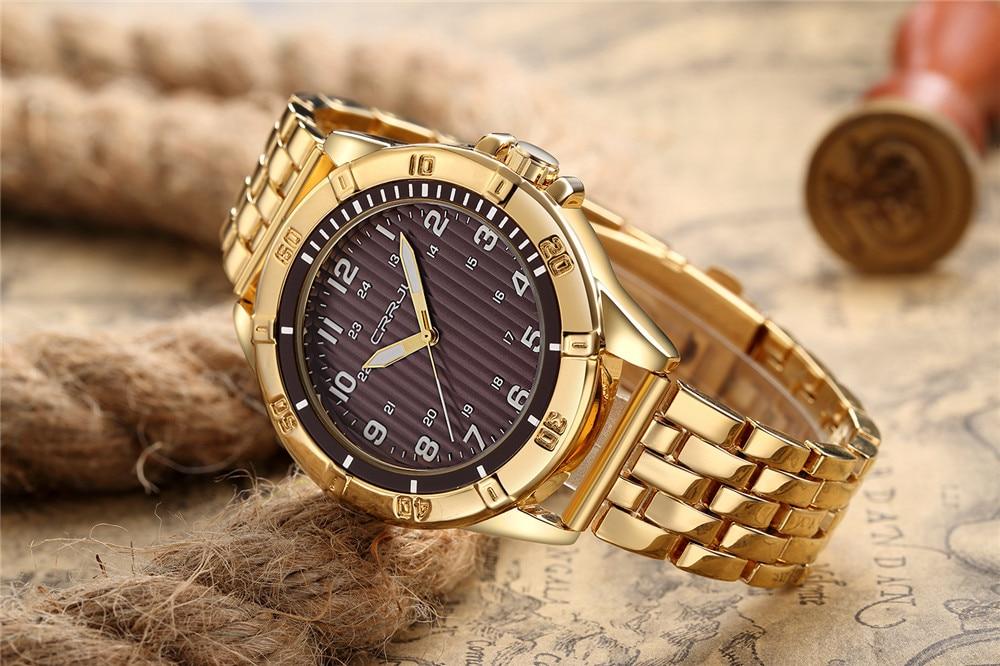 Hoogwaardige heren quartz-horloge luxe merk herenhorloge waterdichte - Herenhorloges - Foto 4