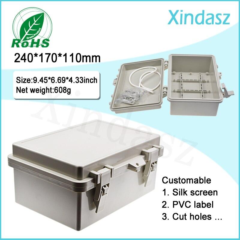 (XD-F54) Caja De Distribución De Plástico De 240*170*110mm Cajas Eléctricas De Plástico Grandes