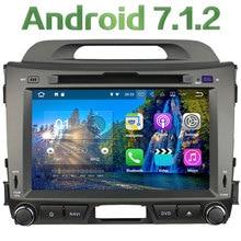 """3G 4G WIFI Android 7.1.2 8 """"2 GB RAM DAB + SWC BT Reproductor de DVD de Radio Estéreo Del Coche Para Kia Sportage R 2010 2011 2012 2013 2014 2015"""