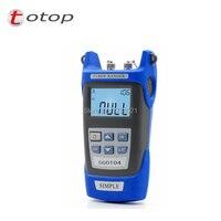 Mini Handheld OTDR SGOT04 Fiber find fault tester 1310 or 1550nm SGOT04 with VFL FC/SC Connector Fiber breakpoint fault detector