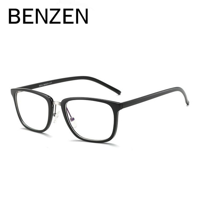 BENZEN Anti Blue Rays Computer Glasses Reading Glasses Frame Radiation-resistant Glasses Computer Gaming Goggles With Case 5035