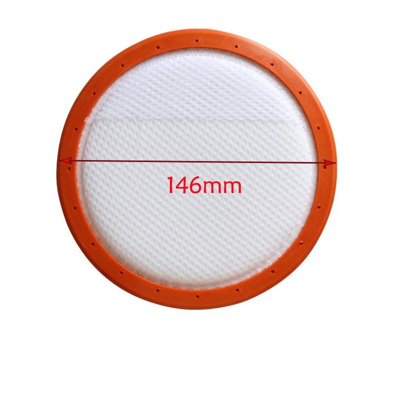 1Pcs Pre Motor Filter For Vax C88 C89 U88 U89 Vax C88-VW-B C89-MA-P C89-P6-B Vacuum Cleaner Parts 146mm in Diameter Filters vax c87 am b r
