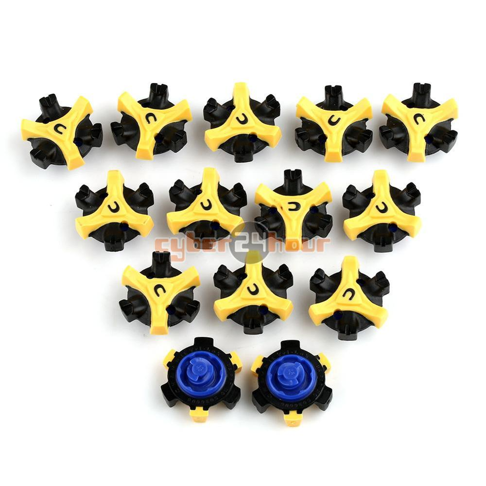 NEW 14pcs Golf Shoe Spikes Replacement Champ Cleat Fast Twist Tri-Lok