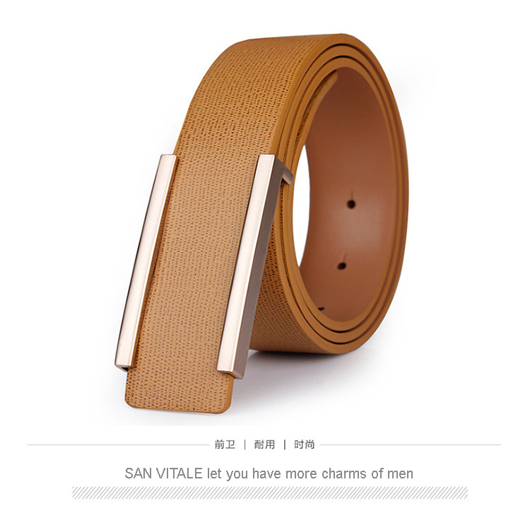 2017 New Designer Famous Brand Luxury Belts Men Male Waist Strap Faux Cowskin Leather Alloy Buckle Belt For Men Freeshipping