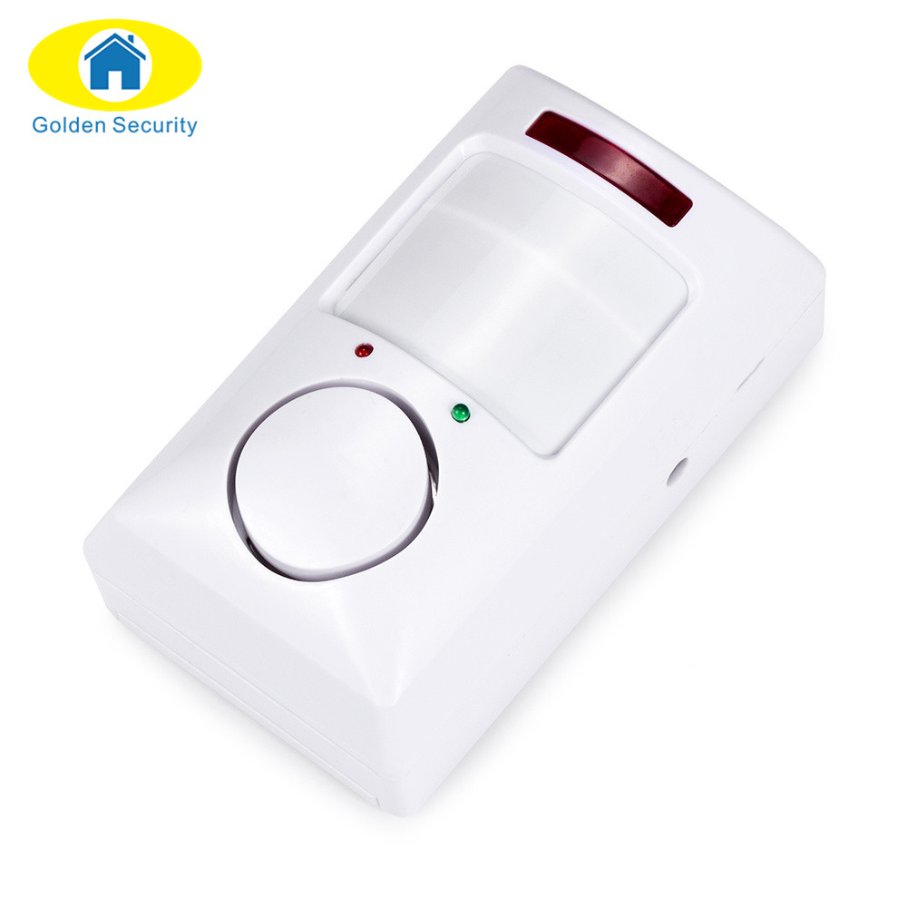 Golden Security Portable 105db Pir Motion Detector Infrared Anti Intruder Alarm Theft Home