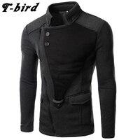 T Bird 2017 Hoodie Men Cardigan Sweatshirt Hip Hop Mens Brand Hoodies Winter Male Fashion Oblique