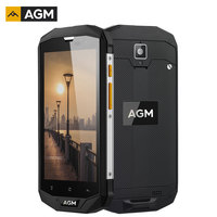 AGM A8 IP68 Water Shockproof Smartphone 5.0 Inch 4GB RAM 64GB ROM Android 7.1 Quad Core NFC 13MP 1280*720 4050mAh 4G Cell Phone