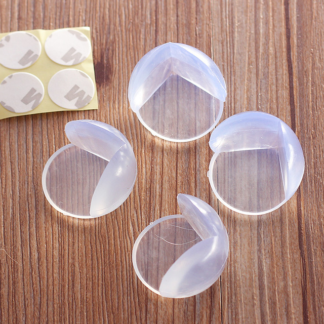 Mambobaby 5Pcs Baby Safety Corner Protector For Furniture Baby Kids Table Corners Anticollision Edge & Corner Guard Child Safety