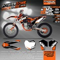 Custom Team Graphics & Backgrounds Decals 3M  Stickers Kits Classic For KTM SX SXF EXC XCW 125 250 300 450 530  Free ShIpping