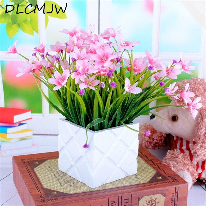 d/'intérieur la simulation des fleurs bouquet fausse plante artificial calla
