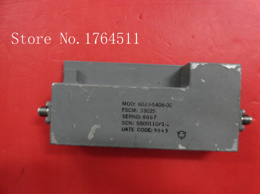 [BELLA] M/A-COM 6029-5406-00 15V SMA Supply Amplifier