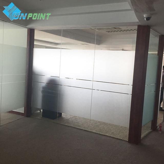 5Meter Waterproof PVC Privacy Frosted Sticker Glass Window Film  Self Adhesive Wallpaper Bedroom Bathroom Office Decorative Films