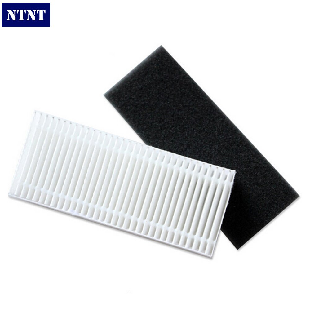 NTNT 2pcs HEPA Filter For Robot Vacuum Cleaner Accessories Pack For Ecovacs Deebot Deepoo CEN630 CEN530 CR631 CEN730 SCEN717 for b2005 plus remote control for robot vacuum cleaner 1pc pack cleaning appliance accessories