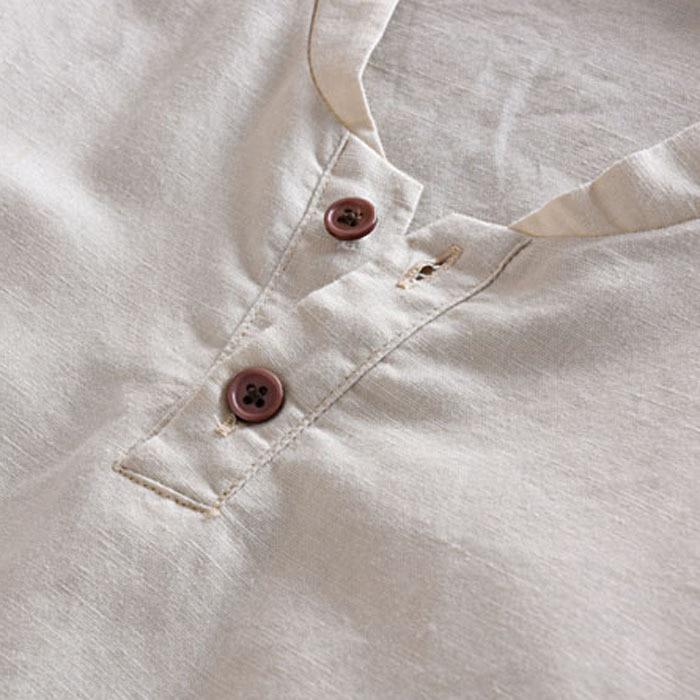 b7176bd9802d mode Herren Pullover Leinen Shirts Kurzarm Sommer Breathable Männer s Qualität  Casual Shirts Slim fit Solide Baumwolle Shirts