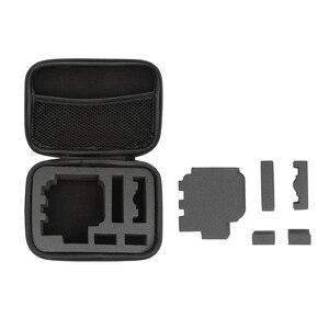 Image 4 - Shoot tamanho pequeno eva caso portátil para gopro hero 9 8 7 5 preto xiao yi 4k dji osmo sjcam eken ação câmera coleção caixa saco