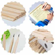 100pcs/ lot Eco-friendly Natural Wood Pencil HB Black Hexagonal Non-toxic Standard Pencil Cute Stationery Office School Supplies