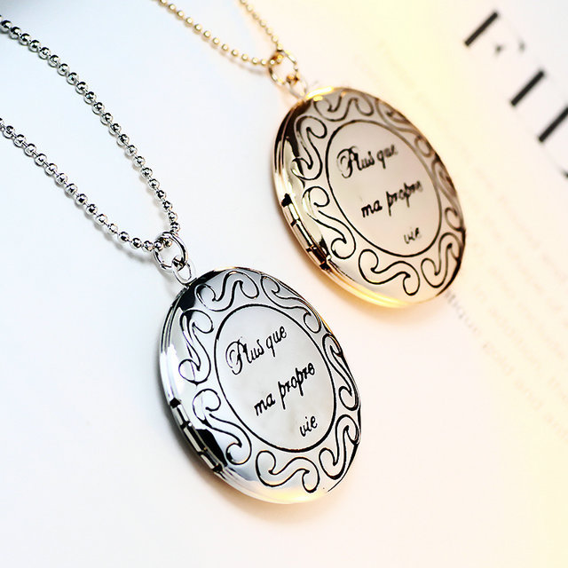 High quality can open pocket watch shape round lockets pendant photo high quality can open pocket watch shape round lockets pendant photo locket necklace couple lovers jewelry aloadofball Image collections
