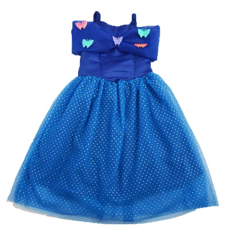 HTB1HC5jbEjrK1RkHFNRq6ySvpXa1 Fancy Baby Girl Princess Clothes Kid Jasmine Rapunzel Aurora Belle Ariel Cosplay Costume Child Elsa Anna Elena Sofia Party Dress