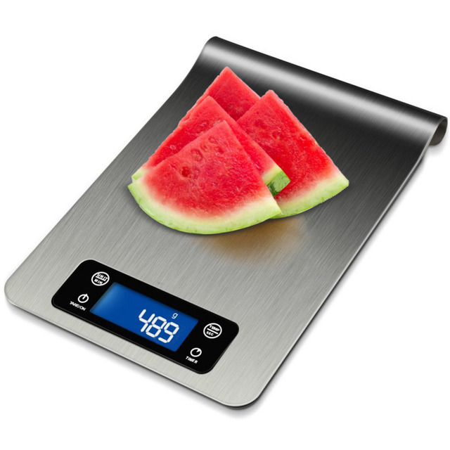 Handy Multifunction Stainless Steel Electronic Kitchen Scales