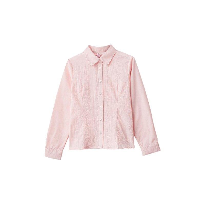Blouses & Shirts MODIS M182K00010 for girls kids clothes children clothes TmallFS plus collar knot blouses
