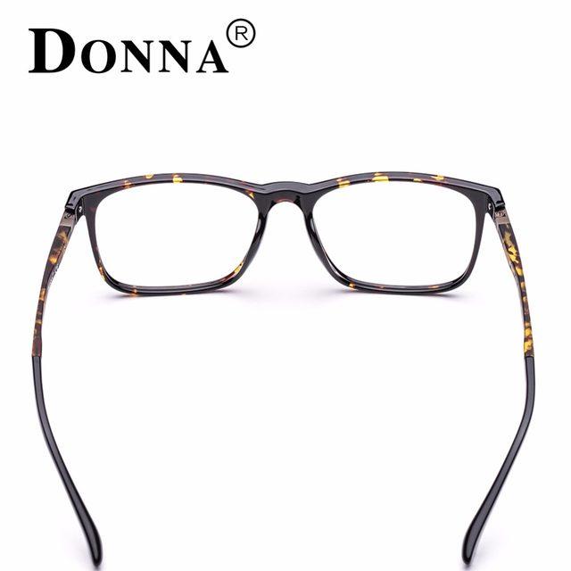 Online Shop Donna TR90 Men Glasses Frame Vintage Optical Myopia ...