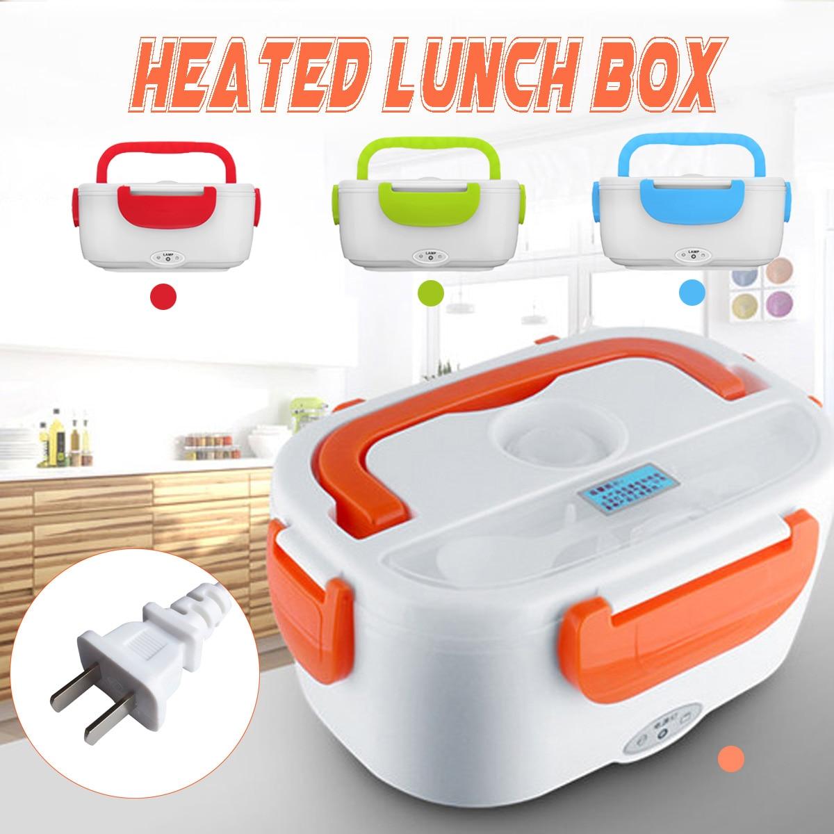 Elektrische Heizung Lunch Box 110 V Tragbare Multi-Functional Food-Grade Food Container Lebensmittel Wärmer Camping Reisen Heizung